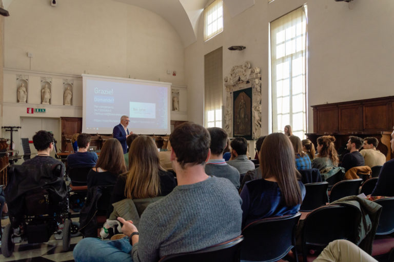 ISA - Eventi - Le soft skills per orientare la carriera - Luca Bertuccini