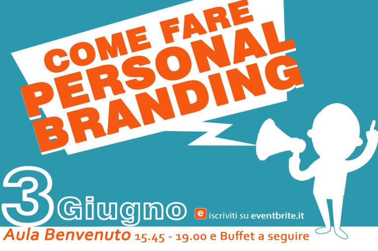 ISA - Eventi - Locandina - Come fare personal branding